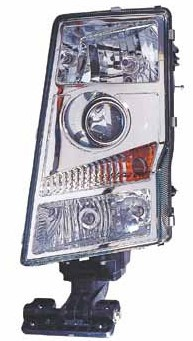 Headlamp Lh Import (Round Plug)