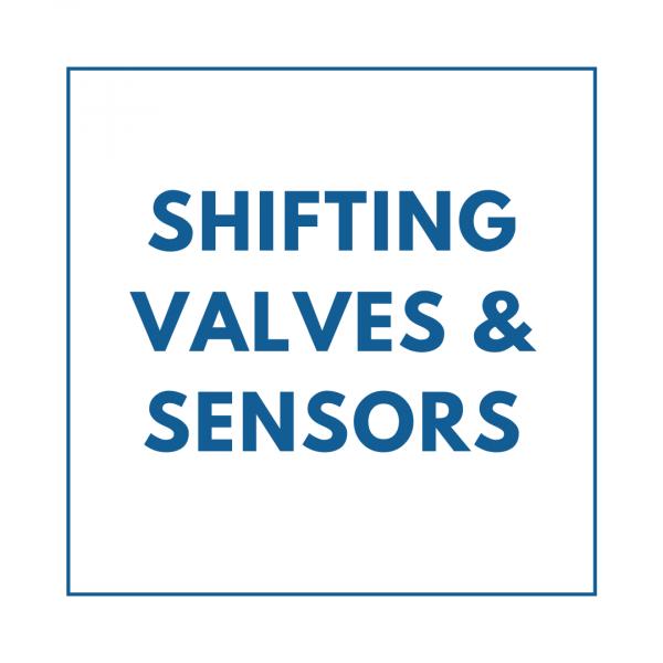 Shifting Valves and Sensors