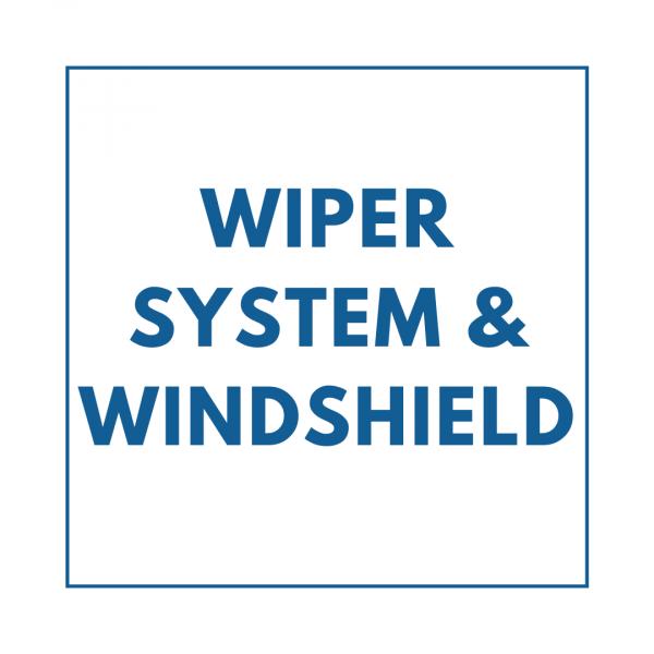 Wiper System & Windshield