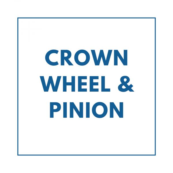 Crown Wheel & Pinion
