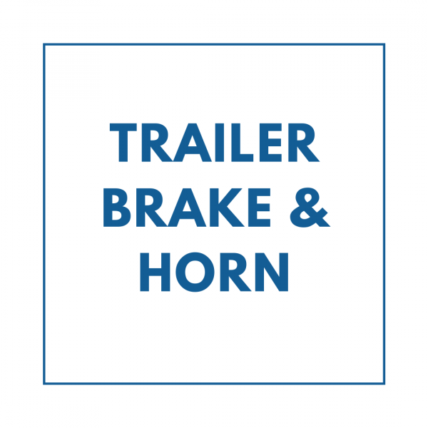 Trailer Brake & Horn