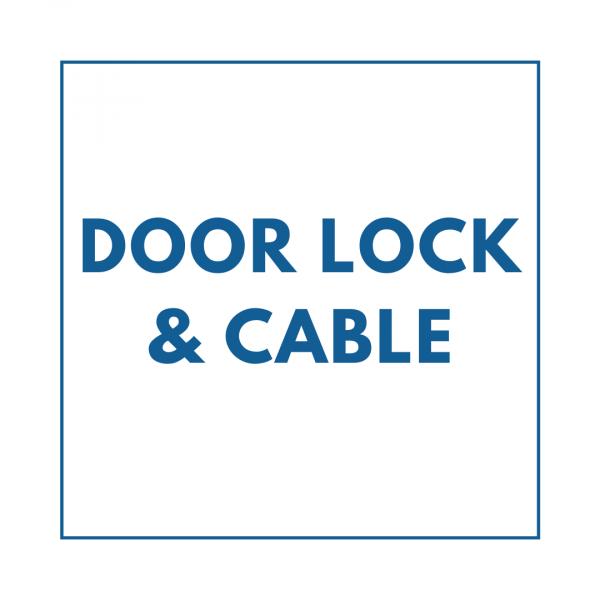 Door Lock & Cable