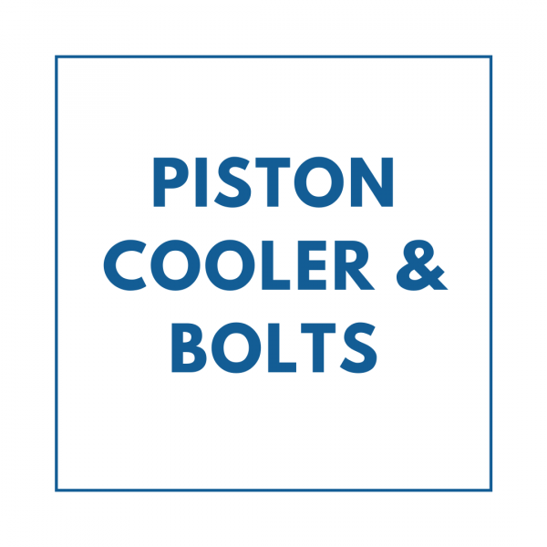 Piston Cooler & Bolts