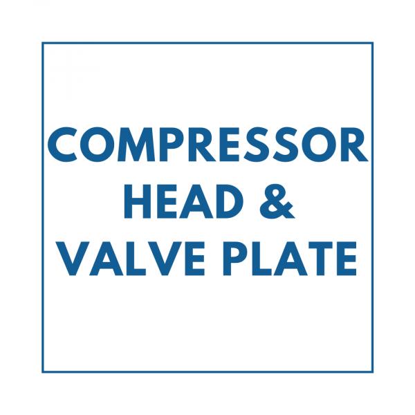 Compressor Head & Valve Plate