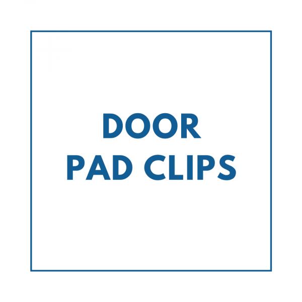 door pad clips