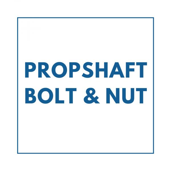 Propshaft Bolt & Nut