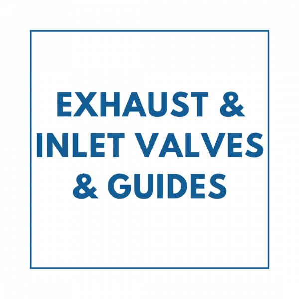Exhaust & Inlet Valves & Guides