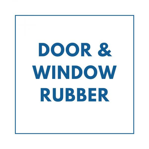 Door & Window Rubber