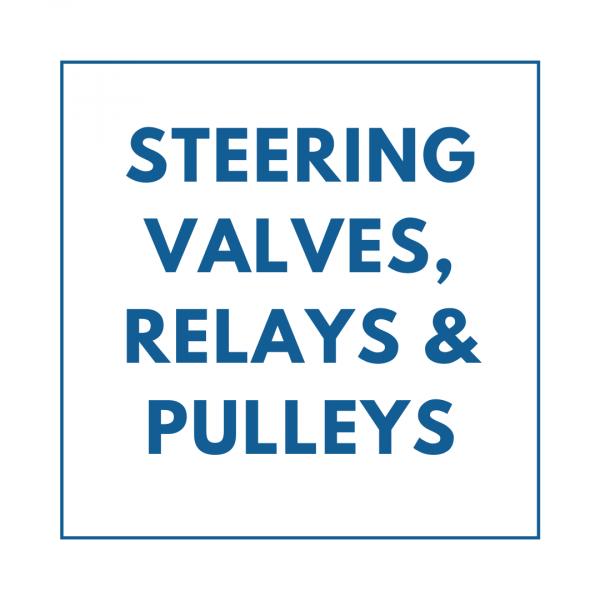 Steering Valves, Relays & Pulleys