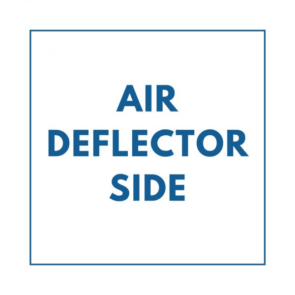Air Deflector Side