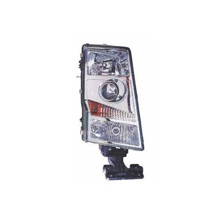 Headlamp Rh Import (Round Plug)